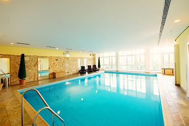 Pool im Wellnesshotel Freizeit In